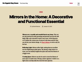go-organic.co.za screenshot