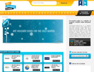 go-voucher-codes.co.uk screenshot