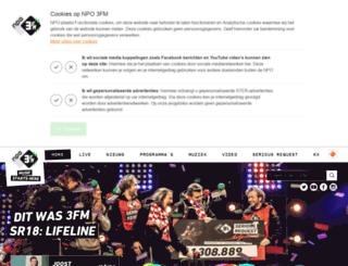 go.3fm.nl screenshot