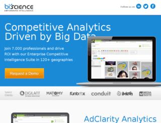 go.adclarity.com screenshot