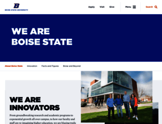 go.boisestate.edu screenshot