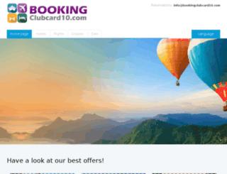 go.bookingclubcard10.com screenshot