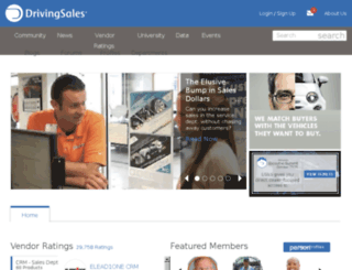 go.drivingsales.com screenshot