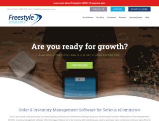 go.freestylesolutions.com screenshot