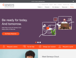 go.genesyslab.com screenshot