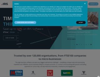 go.iris.co.uk screenshot
