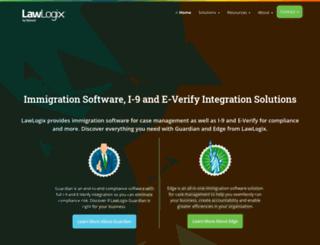 go.lawlogix.com screenshot