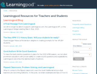 go.learningpod.com screenshot