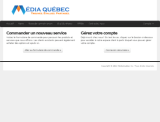 go.mediaquebec.ca screenshot