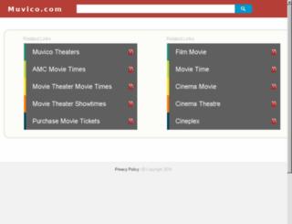 go.muvico.com screenshot