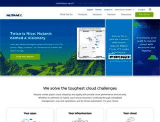 go.nutanix.com screenshot