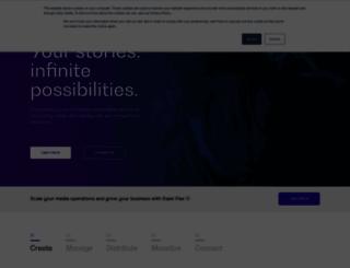 go.ooyala.com screenshot