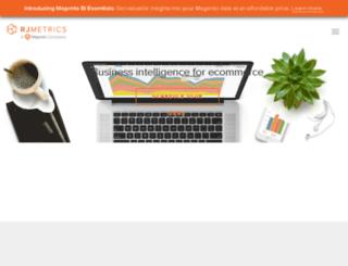 go.rjmetrics.com screenshot