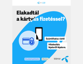 go.telenor.hu screenshot
