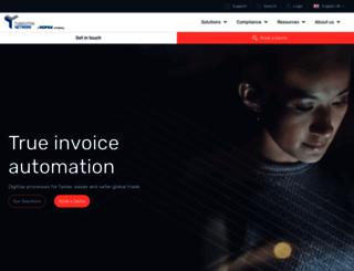 go.tungsten-network.com screenshot