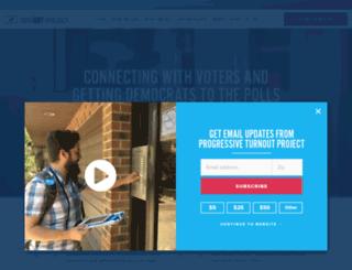 go.turnoutpac.org screenshot