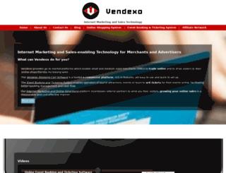 go.vendexo.com screenshot