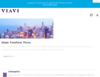 go.viavisolutions.com screenshot