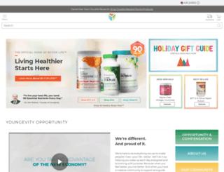 go123.youngevity.com screenshot
