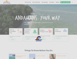 go2andaman.com screenshot