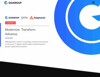 go2group.com screenshot