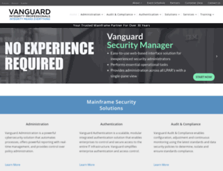 go2vanguard.com screenshot