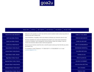 goa2u.com screenshot