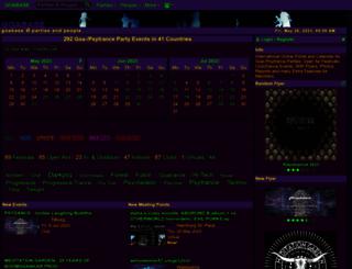 goabase.de screenshot