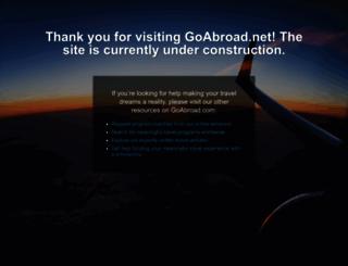 goabroad.net screenshot