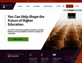 goacta.org screenshot