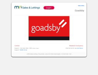 goadsby.aspasia.net screenshot