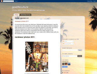 goalifeculture.blogspot.com screenshot