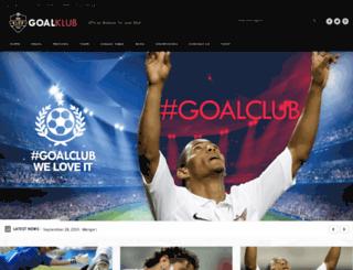 goalklub.chimpgroup.com screenshot