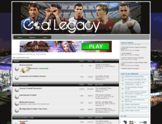 goallegacy.forumotion.com screenshot