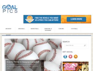 goalpics.com screenshot