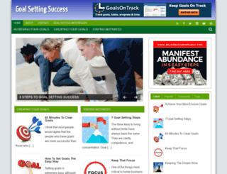 goals.azhubs.com screenshot