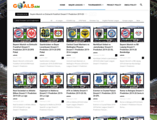 goalsaim.com screenshot