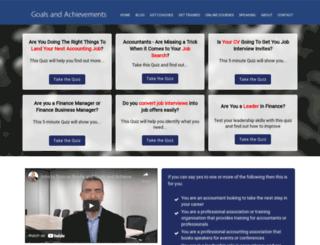 goalsandachievements.com screenshot