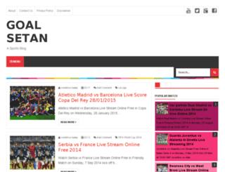 goalsetan.net screenshot