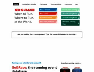 goandrace.com screenshot