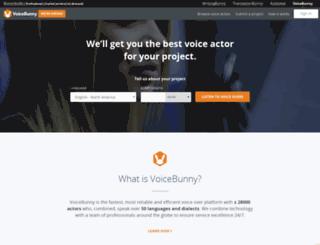 goanimate.voicebunny.com screenshot