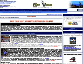 goanvoice.org.uk screenshot
