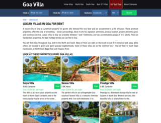 goaourgoa.com screenshot