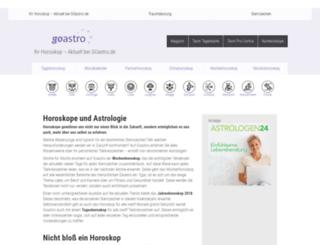 goastro.de screenshot
