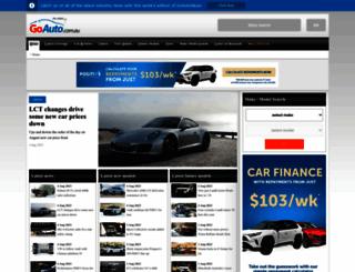 goauto.com.au screenshot
