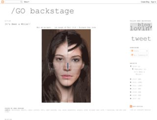 gobackstage.blogspot.com screenshot