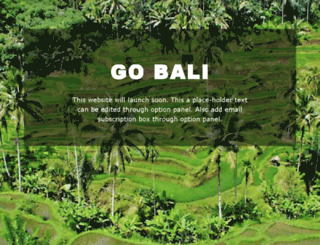 gobali.co screenshot