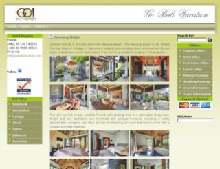 gobalivacation.com screenshot