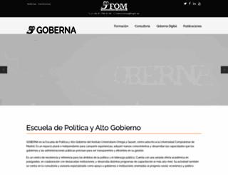 gobernaamericalatina.org screenshot