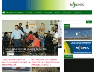 gobiernodemisiones.com screenshot
